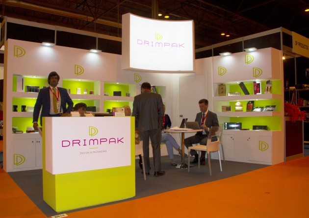 Stand de Drimpak en el Salón de Gourmets.