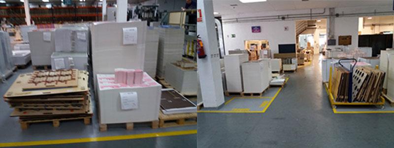 antes y después fábrica Drimpak