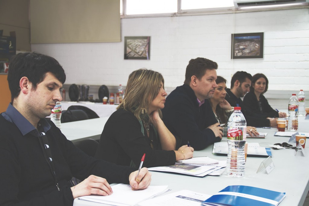 Reunión del grupo de responsables de calidad de Aspack.